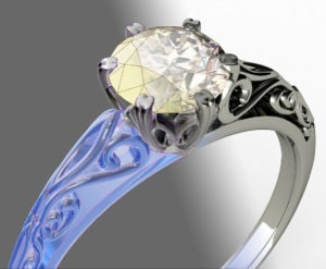 Here are the main reasons for using 3D for jewelry visualization.
